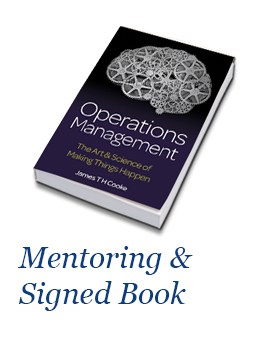 Operations Management By James TH Cooke - Mentoring & Signed Book