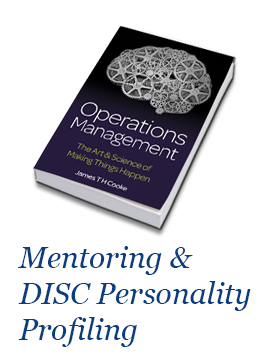 Operations Management By James TH Cooke - Mentoring, DISC & Signed Book